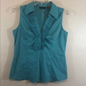 Women's NY&C Teal Tank Top Size Medium